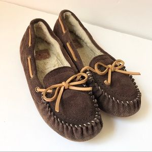 Lucky Brand Abelle Suede Moccasins